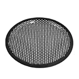DealMux 8 Inch Subwoofer Speaker Black Metal Waffle Cover Guard Grill
