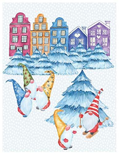 - Winter Gnomes oversized 8.5x11