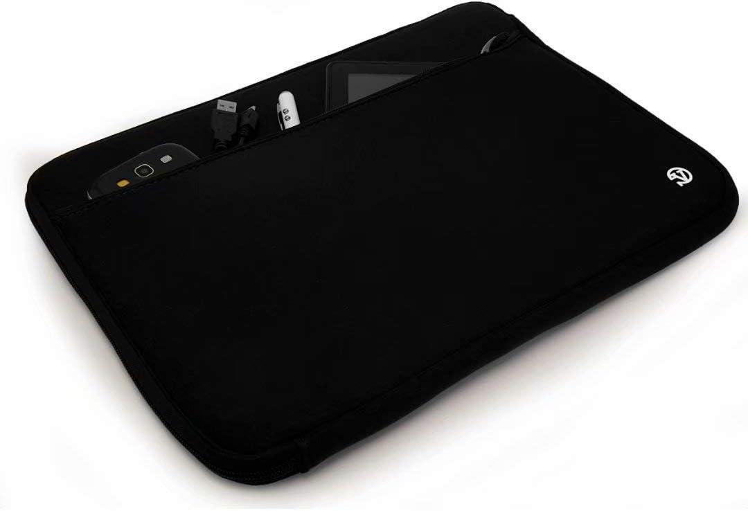 Vangoddy Black Universal 15 to 15.6 Inch Neoprene Sleeve