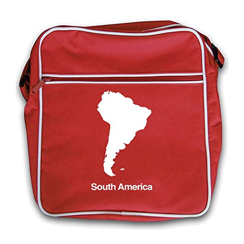 Bag Red South Flight Red America Retro Silhouette South America wOYxPZCqY