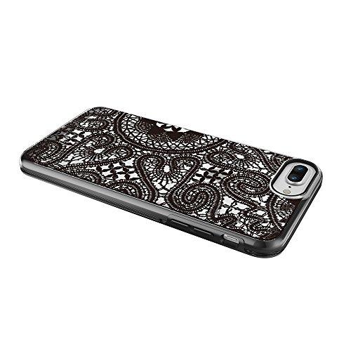 """Prodigee [Show] Lace Black for iPhone 7 Plus 5.5"""" Cell phone Case Cas, de protection flexible, durable, absorption des chocs, étui de protection, couverture de téléphone haut-parleur cas de téléphone"""