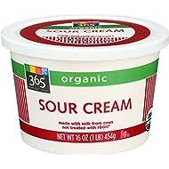 365 Everyday Value, Organic Sour Cream, 16 oz