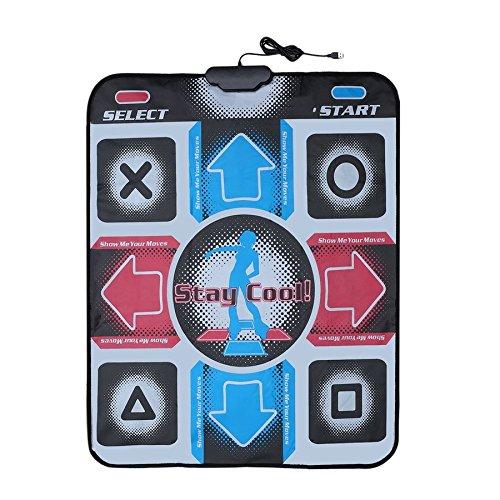 Lovelysunshiny Non-Slip Dancing Step Dance Mat Pad Pads Dancer Blanket to PC with USB by Lovelysunshiny (Image #2)