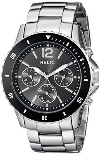 Relic Men's ZR15771 Jaxton Stainless Steel Bracelet Watch