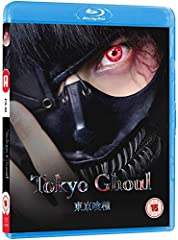 Riddled with gripping fight scenes and tasteful gore, this adaptation of Tokyo Ghoul brings the popular manga series to life like never before. Buried in books and a quiet life, Ken Kaneki is all but dead to the world in an age where flesh-ea...