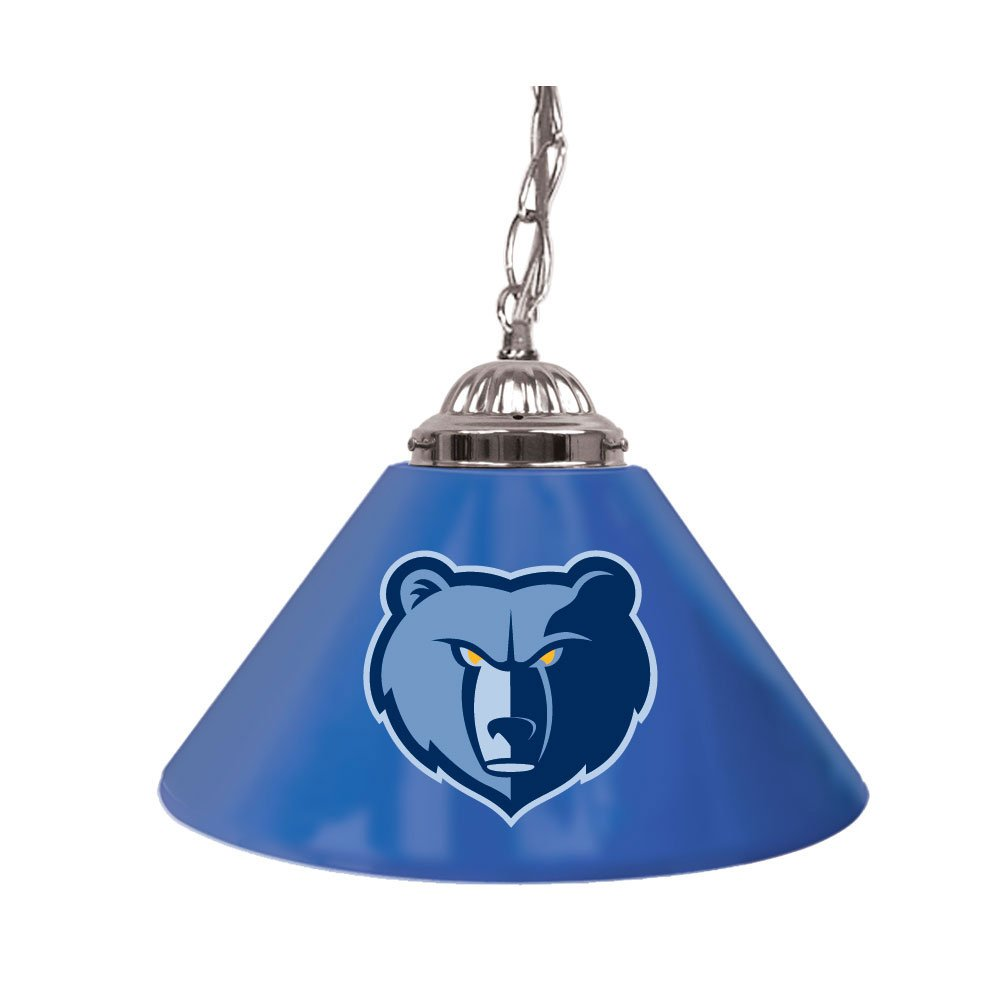 NBA Memphis Grizzlies Single Shade Gameroom Lamp, 14''