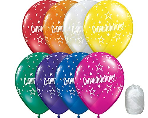 Balloons Jewel Latex Assorted - 10 Pack 11