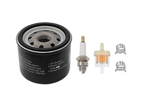 Filtro de aceite combustible bujías para Craftsman ltx1000 LT2000 John Deere L110 D110 L118 LA120 D125