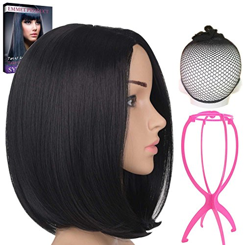 Short Synthetic Wig (Emmet Short Bob Wig 12