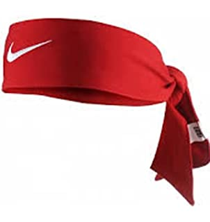 Amazon.com  Nike Dri Fit Head Tie Black  Sports   Outdoors 026141b21e5
