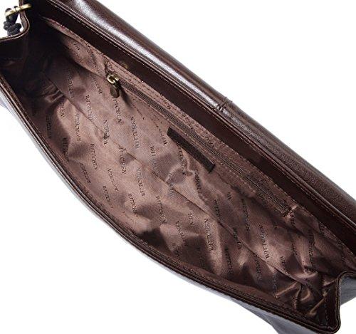WITTCHEN - Cartera de mano para mujer, marrón (Marrón) - 35-4-514-4 marrón