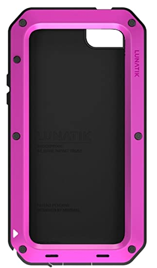 Lunatik Taktik Strike - Carcasa para Apple iPhone 5, negro y ...