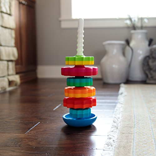 51jjjCIBpAL - Fat Brain Toys Kids Spinagain Toy