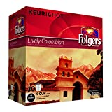 Folgers Lively Colombian Coffee K-Cup Pods, 30 K-Cups
