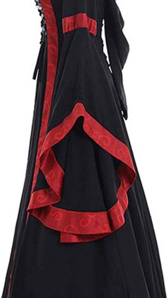 Vestido Vintage Mujer Medievales SUNNSEAN Vestidos Disfraz ...