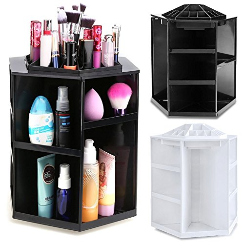 360 Degree Rotating Capacity Cosmetics Organizer