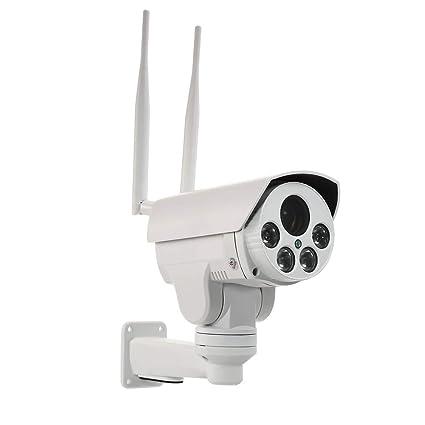 OWSOO Cámara IP Inalámbrico 1080P 4G 2.8-12mm Lente de Enfoque Automático IR-Cut