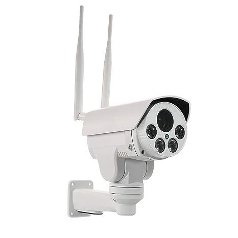 OWSOO Cámara IP Inalámbrico 960P 4G 2.8-12mm Lente de Enfoque Automático IR-Cut Visión Nocturna 3G gsm Impermeable Cámara de Vigilancia CCTV con Ranura para ...