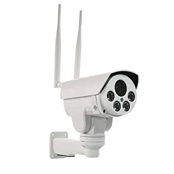 OWSOO Cámara IP Inalámbrico 1080P 4G 5-50mm Lente de Enfoque ...
