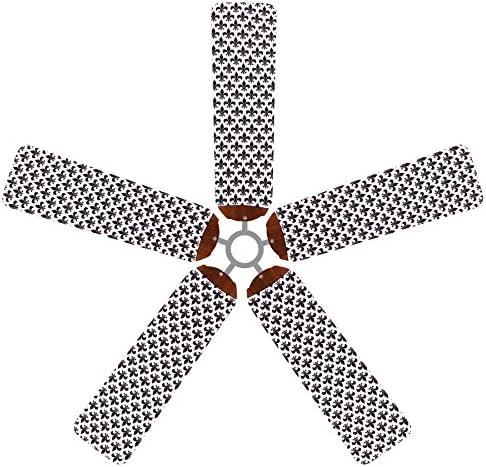 Fundas para ventilador de techo, diseño de hoja de