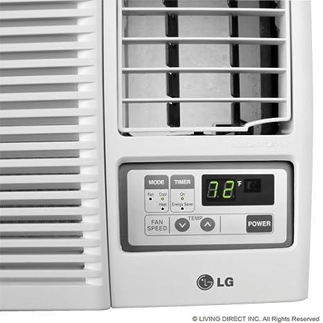 Amazon.com: Lg Lw2415hr Window Air Conditioner   22, 500/23, 000 Btu Cool  9, 400/11, 600 Btu Heat: Home U0026 Kitchen