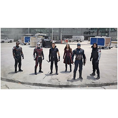 captain-america-civil-war-cap-falcon-ant-man-hawkeye-scarlet-witch-and-bucky-on-tarmac-8-x-10-inch-p