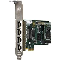 Digium 1TE435F 4 Span Digital T1/E1/J1/PRI PCI-Express X1 Card