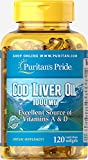 Puritan's Pride Cod Liver Oil 1000 mg-120 Softgels Review