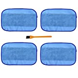Hongfa Microfiber Wet Mopping Cleaning Cloth Pads Replacement for iRobot Braava 380 380t 321 320 Mint 5200C 5200 4200 4205 (4-pack)