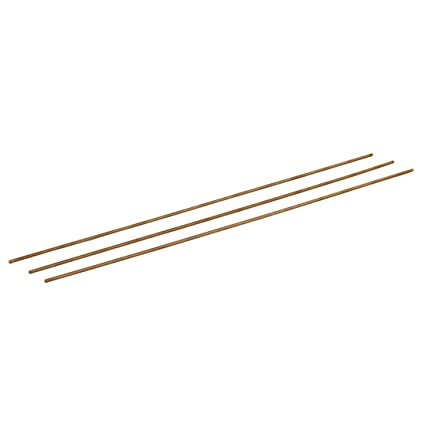 uxcell M6 x 250mm Brass Fully Threaded Rod Right Hand Threads