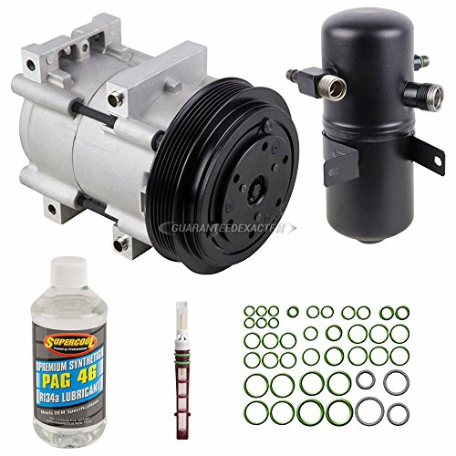Ford Truck Clutch - New AC Compressor & Clutch With Complete A/C Repair Kit For Ford F Series Truck - BuyAutoParts 60-80249RK New