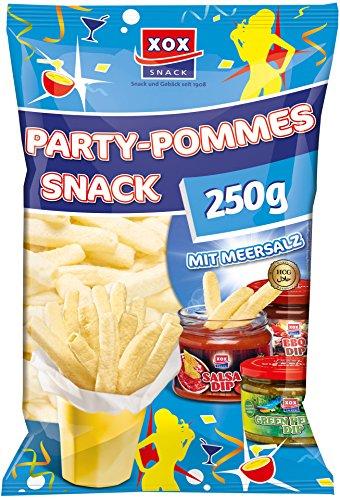 XOX Party-Pommes Snack