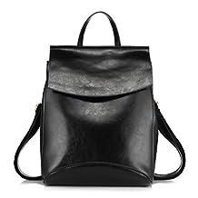 Realer Leather Convertible Purse Backpacks for Women Shoulder Bag
