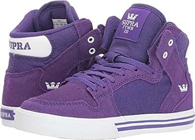 Supra Kids Mens S11235K-462 Vaider (Little Kid/Bid Kid) Purple Size: 5.5