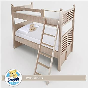 Amazon Com Snuggle Home 6 Inch Foam Two Sided Bunk Bed Mattress