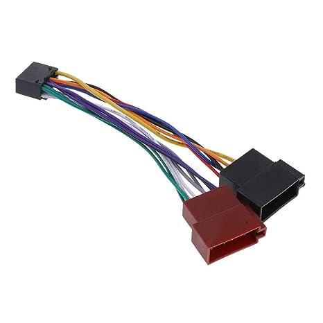 Amazon.com: FidgetFidget 16 Pin ISO Wiring Harness Adaptor ... on