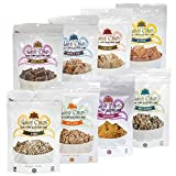 Skinny Crisps Low Carb Gluten Free Crackers Variety Pack 8 Flavors Sampler Pack For Sale