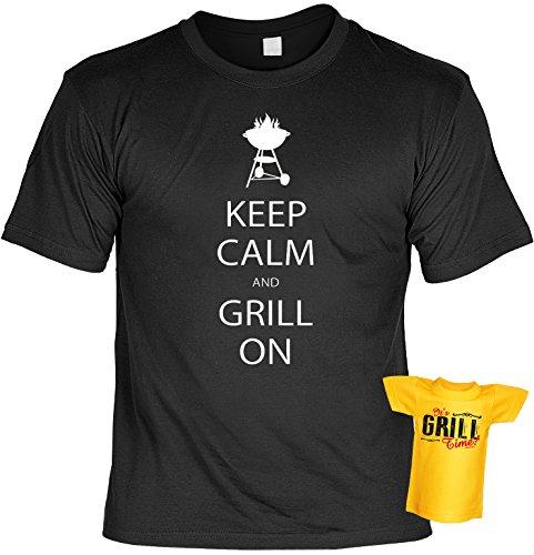 Witziges Grill Fun-Tshirt - Tolles Geschenk - Griller Set Goodman Design® auch in Übergrößen Gr: S Farbe: schwarz