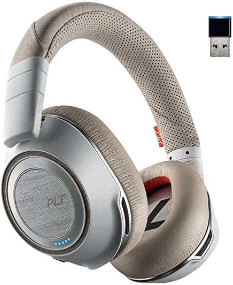 Amazon Com Plantronics Voyager 8200 Uc Stereo Bluetooth Headset With Active Noise Canceling Computers Accessories