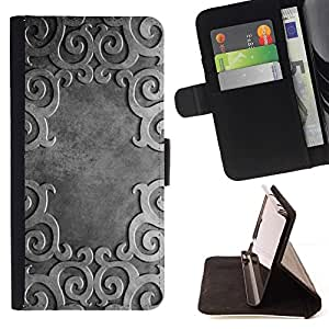 DEVIL CASE - FOR Apple Iphone 6 - Ancient Pattern - Style PU Leather Case Wallet Flip Stand Flap Closure Cover