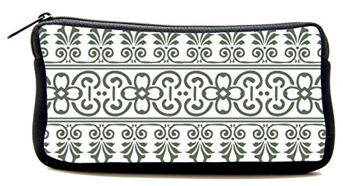 Pen Bag gray Illustrated Pencil Case