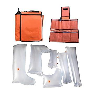 UUK Kit de primeros auxilios de aire de Splint, plástico ...