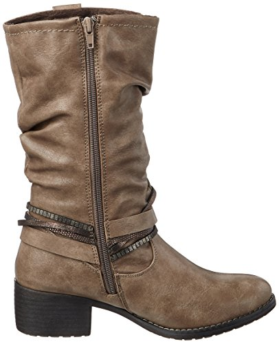253 Cowboy Bruno Banani Grau Women's 544 Stone Boots HOn56qAIwn