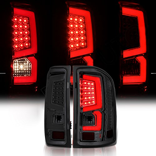 o Pickup Truck Smoke LED Tail Brake Lamp C-streak Bar Lights ()