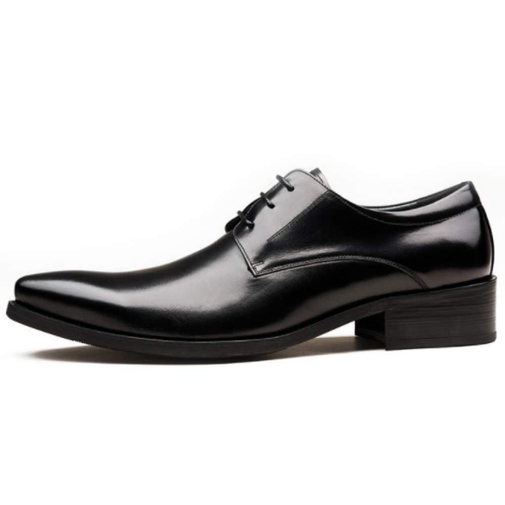 Mode Britisches Geschäfts Kleid Beschuht Friseur Spitzen Flut Schuhe Mit  Den Spitzen Friseur Beiläufigen Männern Der Lederschuhe schwarz d58899 f6cc6e9200