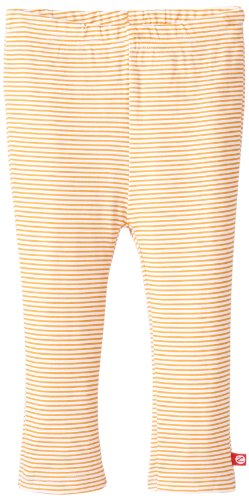 (Zutano Candy Stripe Skinny Legging, Orange, 24 Months  (18 24 months))