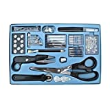 Professional Sewing set with 143 parts - scissors, seam ripper, sewing machine needles etc. by TARGARIAN