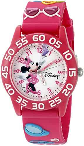 Disney Infinity Kids' W002460 Minnie Mouse Analog Display Analog Quartz Pink Watch
