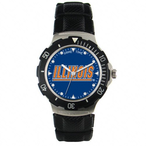 Agent Series Team Watch - Illinois Fighting Illini NCAA Agent Series Team Logo Watch
