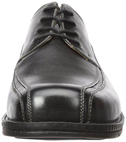 Venta por menos de $ 60 Venta barata disfrutar Cuero Fiduciario Oxford Zapato De Vestir Negro De Los Hombres De Portuarios Precio bajo 100% auténtico xgrsanP1